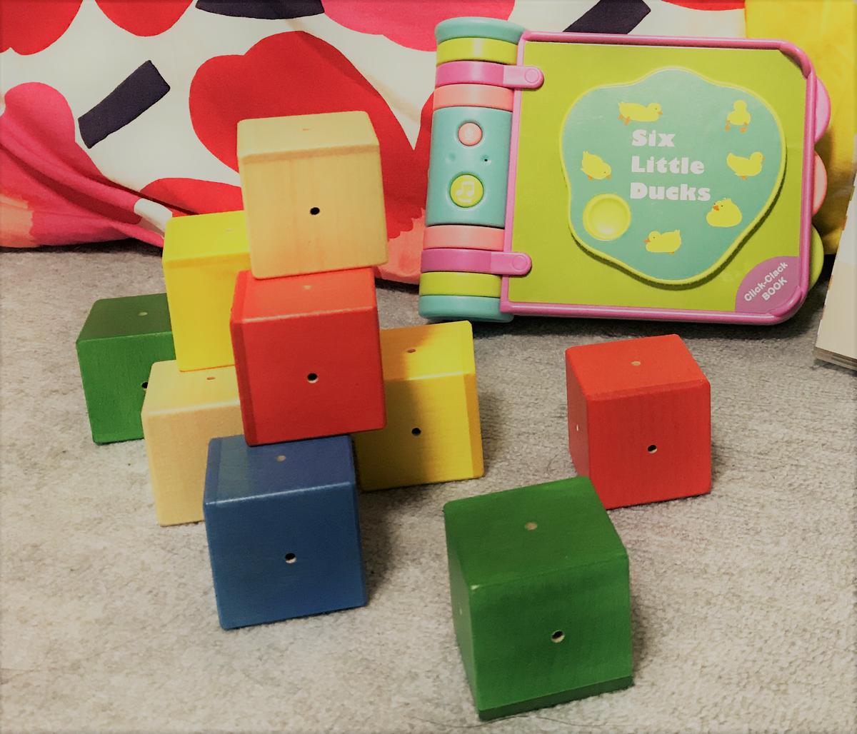 Musical building blocks