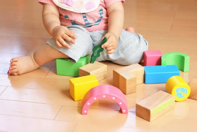 赤ちゃん積み木