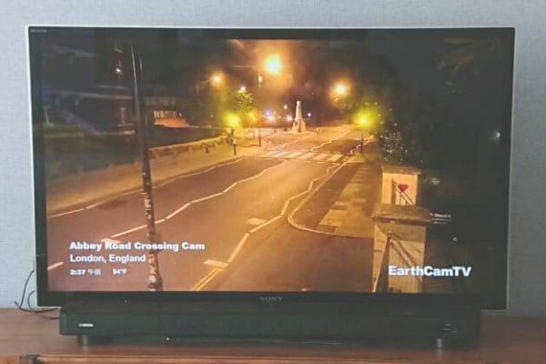 EarthCam TVアビーロード