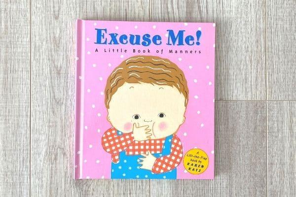 1歳英語絵本おすすめ Excuse Me