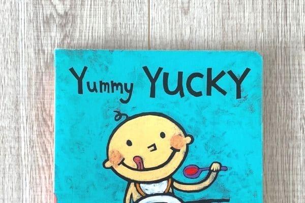 1歳英語絵本おすすめYummy Yucky