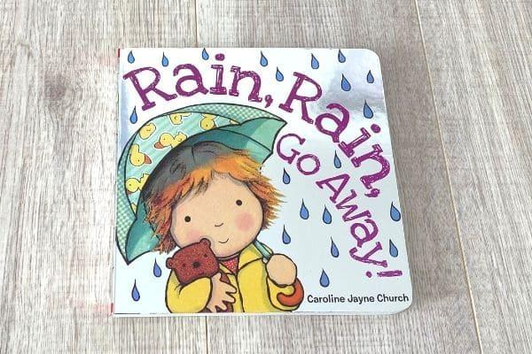 1歳英語絵本おすすめRain Rain Go Away