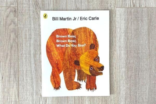 1歳英語絵本おすすめ Brown Bear, Brown Bear, What Do You Say