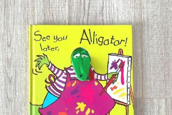 1歳英語絵本おすすめ See you later, alligator