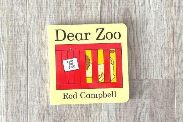 1歳英語絵本おすすめDear Zoo