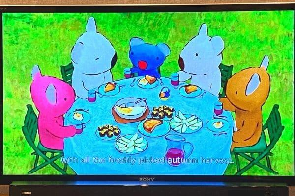 うっかりペネロペ英語DVDのアニメパート02