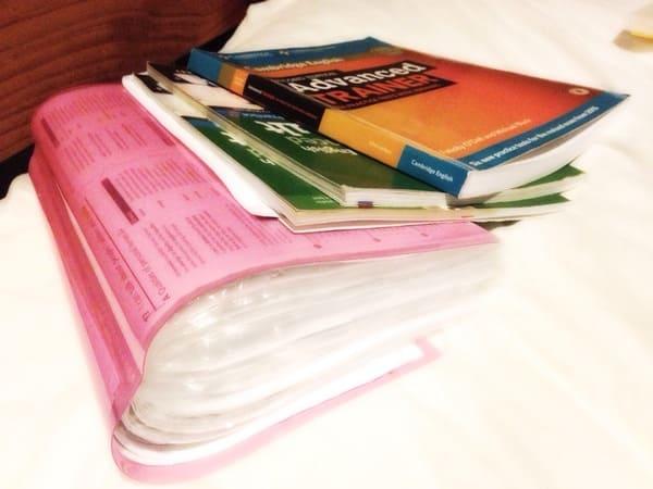 ケンブリッジ英検C1(CAE)勉強時間と勉強量