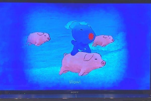 うっかりペネロペ英語DVDのアニメパート