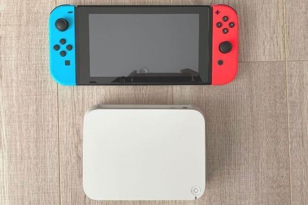 おもいでばこの大きさ(Nintendo Switch比較)