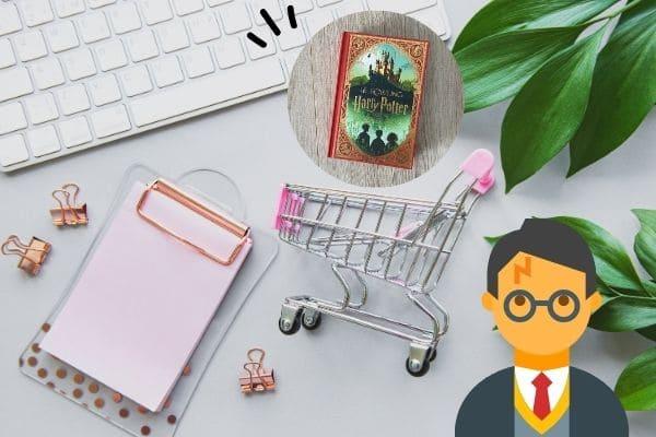 ハリーポッターのミナリマ・デザイン本の買い方