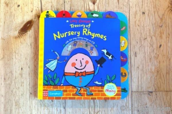 2歳英語絵本おすすめLusy Cousin's Nursery Rhymes